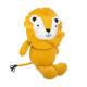 lion plush, yellow