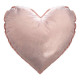 Poduszka złote i różowe serce, 2 razy mieszany , k
