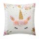 Pillow unicorn pompom, multicolored