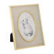linen and gold metal frame, 2- times assorted , go