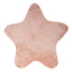 tappeto rosa star, rosa