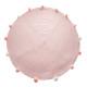 rózsaszín, rózsaszín, nagy pompom szőnyeg