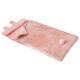 sac couchage lapin rose, rose