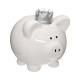 piggy piggy bank, 2- times assorted , assorted col