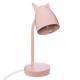 rózsaszín fém fül fülke, rózsaszín