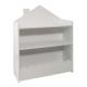 library + white bin, white