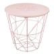 tavolo contenitore kumi rosa, rosa