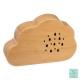 houten wolk muziekdoos, 2- maal geassorteerd , bei