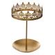 corona, porta joyas de oro