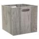 opbergdoos 31x31 hout grijs
