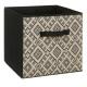 pudełko do przechowywania 31x31 etniczne, czarno-b