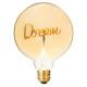 word dream amb g95 2w led lamp, amber