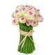 bougie bouquet de roses 280g, 2-fois assorti, coul