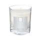 bougie parfumées fl lys elea 190g, blanc