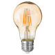 amber led bulb a60 4w, transparent