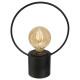led-lamplamp living h26,5, zwart