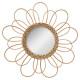 Espejo rota flor d38, beige medio