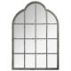 espejo metalico romance 76x110, gris claro