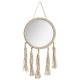 miroir corde ete 31x62, beige