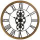 pendulum meca metal wood d70cm, black