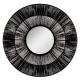 spiegel etnische touw d76, zwart