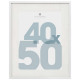 40x50 manu white photo frame, white