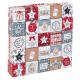 Dekoracyjne pudełka adwentowe kalendarza + rama