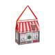 caja bolsa tradicional casa de navidad