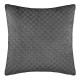 Pillow in velvet emb dolce gr 40x40, gray