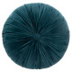 Pillow round velv dolce ca d40, blue