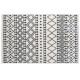 Alfombra etnik patrón 120x170, gris oscuro