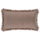 Pillow fringe taupe 30x50, taupe