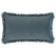 Pillow fringe storm 30x50, blue storm
