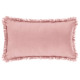 Pillow pink fringe 30x50, pink