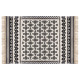 delhi coton carpet 120x170, black & white