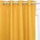 cortina opaca oc140x260, ocre