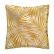 coussin en velours or tropic oc 40x40, ocre