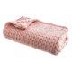 Malla plaid xl rosa 125x150, rosa