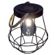 solar lantern metal rope h20, 3- times assorted ,