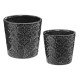 set ceramic pots dolce x2, 2- times assorted , sin