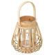 box lanterne rotin d14,5xh16, sable