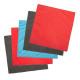 kit chiffonx5 microfibre, couleurs assorties