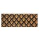 Felpudo de coco 25x75cm, 4 veces surtido , marrón.