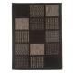 tapis 50x80cm carreau noir, noir