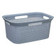 laundry basket 45l scandi, 2- times assorted , col