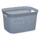 laundry basket 25l scandi, 2- times assorted , col