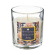 scented candle orange glass can 110g, multicolor