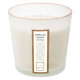 scented candle glass + gold 500g, 2- times assorte