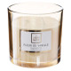 candle scented glass 270g, 2- times assorted , flo