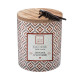 ceramic scented candle 300g, 2- times assorted , c